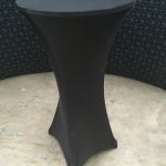 Table with Spandex