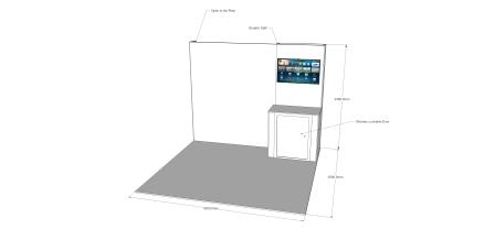 3m x 3m Stand V1