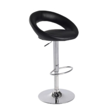 Medium back Black Stools