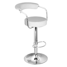 Medium Back White stools