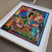 Andrew Salgado Artist Art shipping, fine art shipping, art logistics, art fair, art gallery