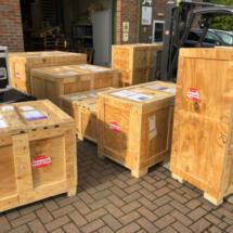 Yufuku Pop Up London June 2019 - Pack Up 4 EBISS Van