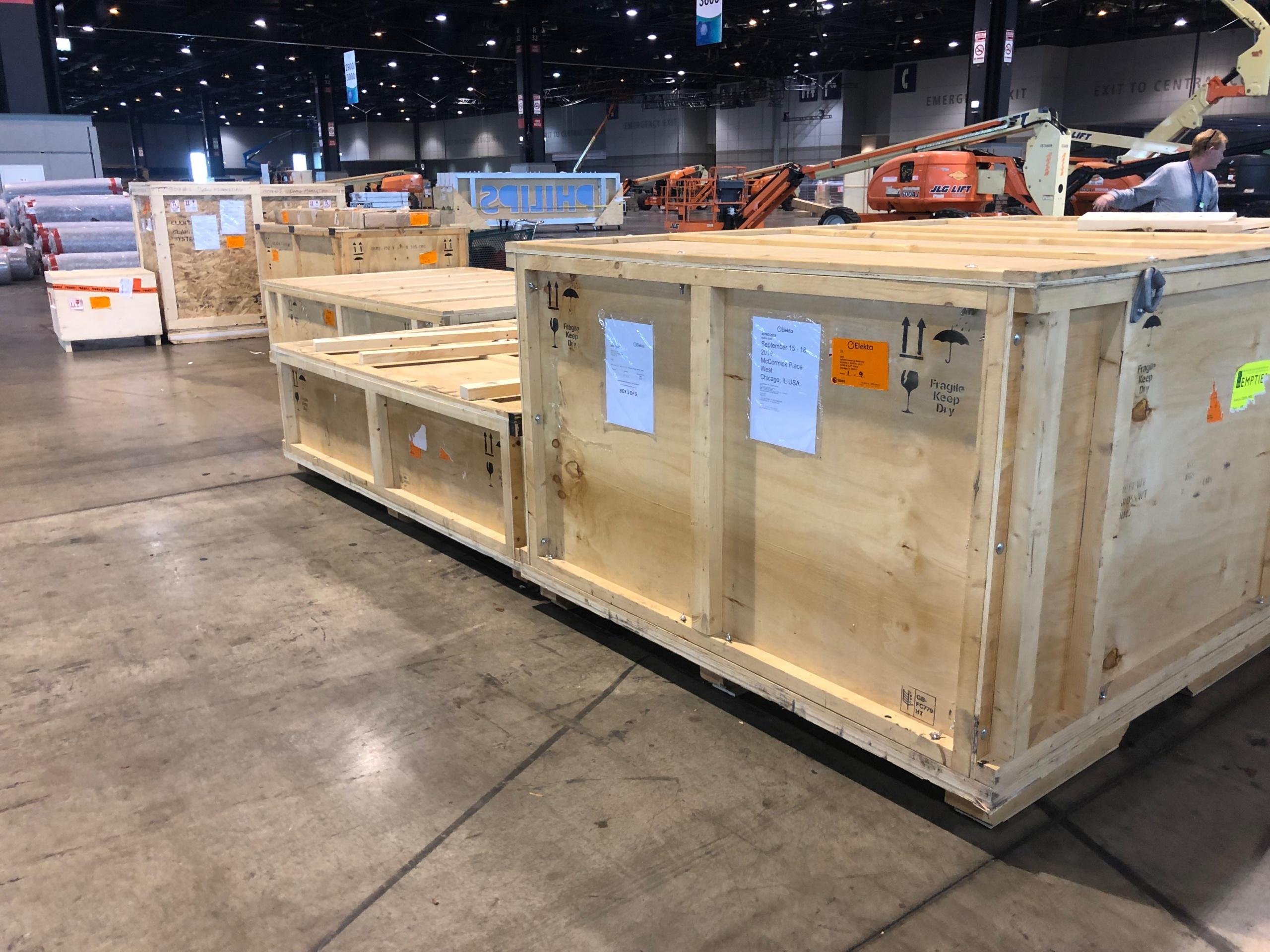 Elekta Sea Shipment to Japan 2019