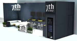 7th Sense Exhibition Stand - Design