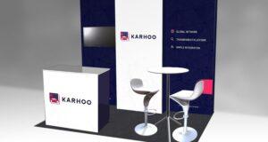 Karhoo Exhibition Stand - Design