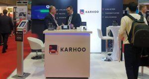 Karhoo Exhibition Stand - Installed